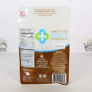 Simple Cure Indica 50mg