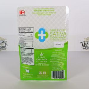Simple Cure Sativa 50mg