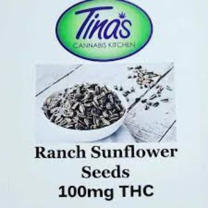 Tina's Kitchen Ranch Sunflower Seeds Indica 100mg